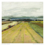 Green Field Plakater av Jacques Clement