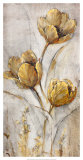 Golden Poppies on Taupe I Prints by Tim O&#39;toole