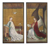 The Annunciation Collectable Print by Stephan Lochner