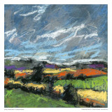 Pastel Landscape IV Poster av Jacques Clement