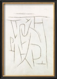 Fragments of the Area from Long Ago, c.1937 Prints by Paul Klee