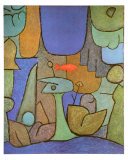 Bottom Water Garden, c.1939 Prints by Paul Klee