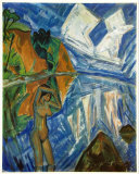 Glassy Day, c.1913 Prints by Erich Heckel