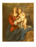 Jungfrau mit Kind Sammlerdrucke von Sir Anthony Van Dyck