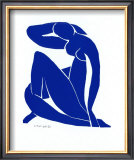 Blue Nude II Print by Henri Matisse