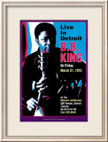 B.B. King - Live in Detroit Print by Dennis Loren