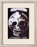 Atomkrieg Nein, 1954 Art par Hans Erni