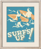 Surf's Up Print by B. J. Schonberg