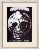 Atomkrieg Nein, 1954 Affiches par Hans Erni