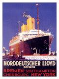 Norddeutscher Lloyd Giclee Print