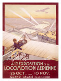 Expo Aerienne Giclee Print by Georges Dorival