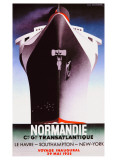Normandie Gicléetryck av Adolphe Mouron Cassandre
