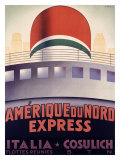 Amerique du Nord Giclee Print by  Patrone