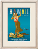 Hawaii by Clipper Posters by Atherton