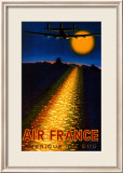 Air France, Amerique du Sud, 1948 Prints by Victor Vasarely