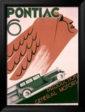 Pontiac 6 Framed Giclee Print by Greif 