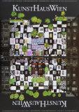 KunstHaus de Vienne Affiche par Friedensreich Hundertwasser