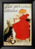 Lait pur stérilisé Affiches par Théophile Alexandre Steinlen
