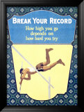 Break Your Record Framed Giclee Print