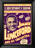 Jimmie Lunceford and His Orchestra at the Larchmont Casino Art by Dennis Loren