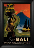 See Bali Framed Giclee Print by John Korver