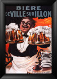 Biere De Ville Sur Illon Art by Francisco Tamagno