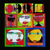 We Live in Paradise, c.1999 (detail) Prints by Friedensreich Hundertwasser