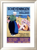 Scheveningen Framed Giclee Print