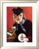 Lucky Strike Cigarette Framed Giclee Print