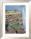 Palisades Amusement Park Inramat gicléetryck
