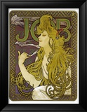 Job Framed Giclee Print by Alphonse Mucha