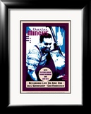 Charles Mingus Recording Live at the Jazz Workshop, San Francisco Print by Dennis Loren