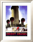 Orient Cruises Affiches par Andrew Johnson