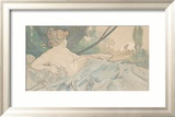 Dawn Art by Alphonse Mucha