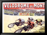 Velodrome du Montet Framed Giclee Print by Marcellin Auzolle
