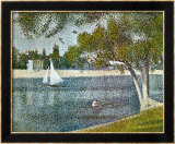Seine at Grande Jatte Posters by Georges Seurat