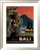 See Bali Framed Giclee Print by John Korver