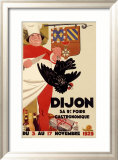 Dijon Gastronomique Culinary Exhibit Framed Giclee Print