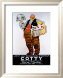 Moving Cotty Framed Giclee Print by Ren&#233; Vincent