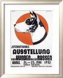 Austellung Von Hundren Reproduction giclée encadrée par Johannes Handschin