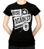 Juniors: Rise Against - Patched Up Shirts