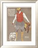 Hermann Scherrer Breechesmaker Framed Giclee Print by Ludwig Hohlwein