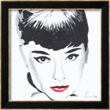 Audrey Prints by Irene Celic