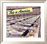 WWII, This Is America Framed Giclee Print