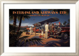 Inter-Island Airways Posters af Kerne Erickson