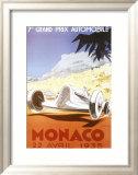 7th Grand Prix Automobile, Monaco, 1935 Poster by Geo Ham