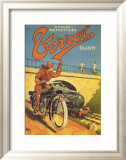 Cycles Motocycles Poster par Nyck 