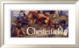 Chesterfield, Nothing Stops 'Em! Framed Giclee Print by Charles E. Chambers