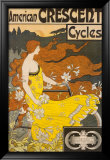 American Crescent Cycles Posters by Ramsdell 