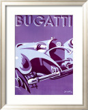 Bugatti Framed Giclee Print by Gerold 